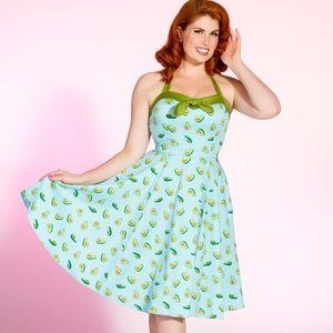PINUP GIRL Golightly Avocado Dress 4X